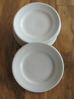 Schmidt Porcelana All White - Made in Brasil - Bread & Butter Plate(s)- 3 Avail
