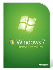 Microsoft MS Windows 7 Home Premium 64 Bit DVD + Lizenzkey Deutsch Multilingual