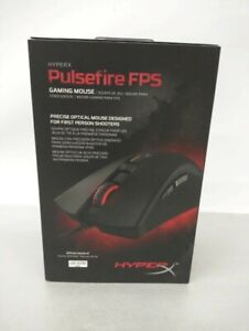 New, Sealed HyperX Pulsefire FPS Optical Gaming Mouse, 6606084, HXMC001A/AM