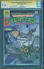 Teenage Mutant Ninja Turtles Adventures 2 CGC SS 9.6 Eastman Sketched 1988