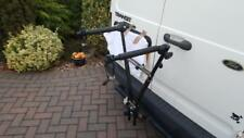 CYCLE BICYCLE CARRIER CLAMP ONTO BALL HITCH FOLDS WHEN OUT OF USE GOOD CONDITION