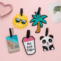 Travel  Accessories Suitcase Label Luggage Tag Baggage Claim ID Address Tags