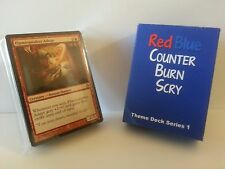 MTG Standard & Theme Decks - Red Blue Counter Burn Scry Magic the Gathering