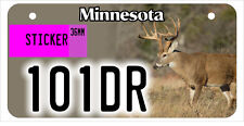 ATV / UTV license plate 101DR