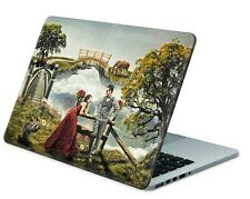 Universal Laptop Skin Notebook Netbook Aufkleber Sticker Cover Fantasy Garden