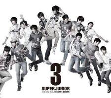 SUPER JUNIOR-THIRD ALBUM SORRY. SORRY-JAPAN 2 CD+BOOK BONUS TRACK J50