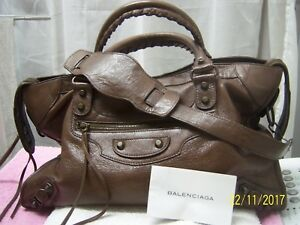 BALENCIAGA SAC CITY COLLECTOR 2006 / BALENCIAGA LEATHER BAG CITY COLLECTOR 2006