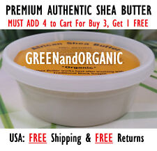 Raw African Shea Butter IVORY 8 oz Unrefined Organic 100% PURE All Natural Ghana
