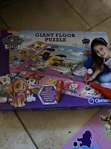 Paw Patrol Toy Electronic Giant Floor Puzzle  24 pieces 3+ Interactive Complete