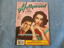 HOLLYWOOD THEN AND NOW October 1990 Issue