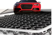 Schwarz Chrom grill für Audi a5 nieren kühlergrill rs5 s5 tuning facelift auto