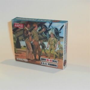 Airfix Empty Repro Box USAF Personnel 1970's Issue HO OO Scale #S48