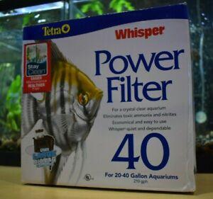 Tetra Aquarium Whisper 40 Power Filter (For 20-40 Gallon Aquariums)
