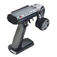 Flysky FS-GT3C 3CH 2.4GHz Remote Gun Controller Radio Transmitter TX & RX Silver