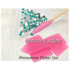 1Pc Nail Art Rhinestone Gems Picker Gel Cube Gel Gem Picker Manicure Tool