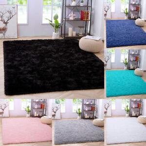 Luxury Fluffy Rug Ultra Soft Shag Carpet For Bedroom Living Room Big Area Rugs
