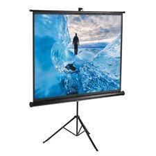 Excelvan 203x152cm 4:3 100'' Projektor-Heimkino-Projektion Hochziehen W/Stativ