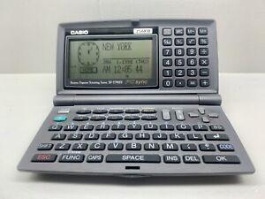 Vintage Casio SF-5790SY 256kb Business Organizer Scheduling System. Working