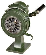 110dB Standsirene stabil Schraubfuß Handsirene Sirene Feuerwehr Luftschutz 01628