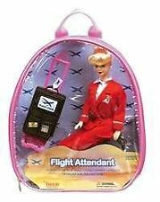 DA400 DaronToys Airline Flight Attendant Doll Backpack Playset