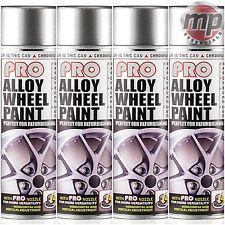 4 ETech PRO Alloy Wheel Refurbish & Refresh Spray Paint - Chromium Bright Silver