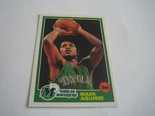 1992/93 TOPPS ARCHIVES BASKETBALL MARK AGUIRRE CARD #12***DALLAS MAVERICKS***