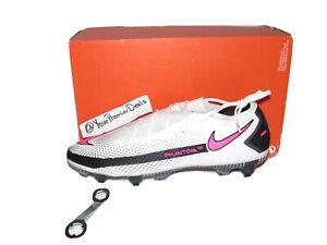 Nike Phantom GT Elite SG-Pro AC White Pink Soccer Cleats CK8443-161 Size 11.5