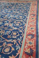 Palace Size Vintage Floral Art Deco Chinese Oriental Area Rug Hand-Knotted 15x25