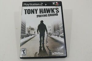 Tony Hawk's Proving Ground Playstation 2 Skateboarding Game Complete Case Manual