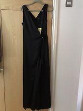 5a5f41d4ccb Karen Millen Black Tuxedo Jumpsuit New! 10