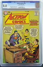 ACTION COMICS #237 CGC 8.0 Superman 1958 4th Highest Graded copy