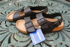 Ladies Birkenstock Milano Sandals Black UK 4 Brand New With Tags