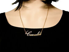 Name Necklace Personalized jewelry 14K Gold Filled necklace, bar necklace custom