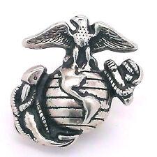 "Marines Corp Logo Antique Nickel Line 24 Decorative Snap Cap 1"" 1265-36"