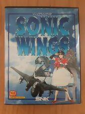 SONIC WINGS 2: Jeu complet Neo Geo AES 100% original SNK Japan version TBE