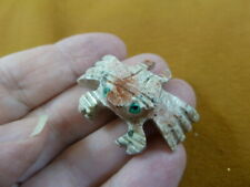 (Y-Cra-26) little red Crab carving Soapstone carving stone figurine love crabs