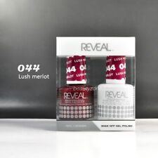 Reveal Gel Polish & Nail Lacquer Matching Duo #044 - Lush Merlot
