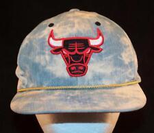 MEN'S Vintage Mitchell & Ness CHICAGO BULLS 1980's Stonewash Basketball Hat Cap