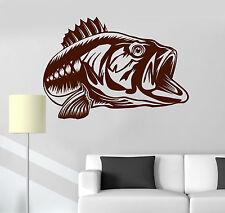 Vinyl Wall Decal Fish Ocean Sea Fishing Shop Decoration Stickers Murals (ig4838)