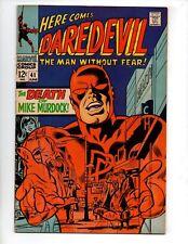 "Daredevil #41 (Jun 1968, Marvel) VF+ 8.5 ""DEATH OF MIKE MURDOCK"""