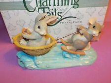 """Charming Tails """"A Day At The Lake"""" Figurine Fitz & Floyd 83/803"""
