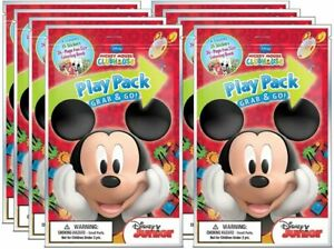 Mickey Grab N Go Play Pack 8pck Multicolor