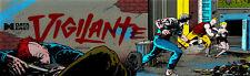 Vigilante Arcade Marquee For Reproduction Backlit Sign