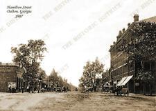 "Dalton, Georgia 1907 5x7"" Historic Sepia Photo Reprint FREE SHIPPING!"