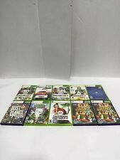 10 Microsoft Xbox 360 Video Games-Not Tested