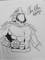 *RARE*Signed Chris Allan sketch (15x23), Teenage Mutant Ninja Turtles (TMNT)
