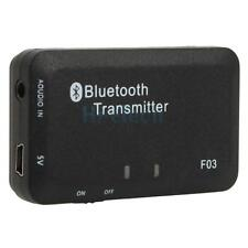 10x 3.5mm Stereo Bluetooth Audio Transmitter A2DP Dongle Adapter for iPod PC TV