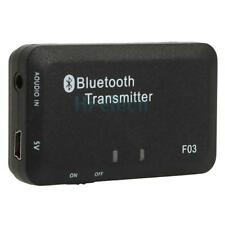 Lot5 3.5mm Stereo Bluetooth Audio Transmitter A2DP Dongle Adapter for iPod PC TV