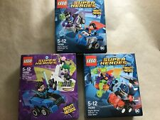 Lego DC Comics Mighty Micros x3 Batman Superman Joker , Nightwing New