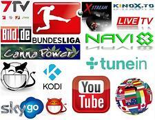 PC software * Smart TV * LiveTV * Kodi 16 * XSTREAM HD * * Istruzioni * XBMC immediatamente link